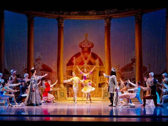 "Nashville Ballet's 2012 production of ""The Sleeping"
