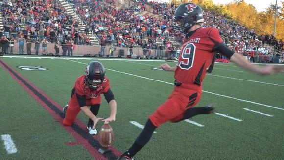 Pisgah senior Mason Fox made a 53-yard field goal on Friday.