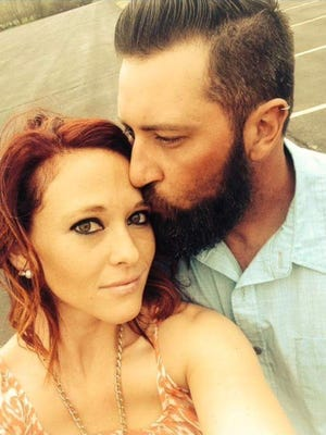 Brian Raymond and Jessica Kelly were in a motorcycle crash Jan. 31 that killed Raymond and injured Kelly.