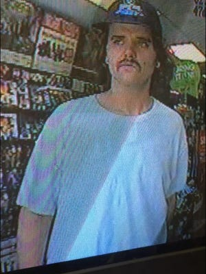 Deerfield Township robbery suspect.