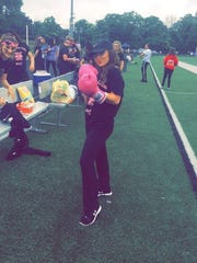 Nicole Minson during Relay For Life at Paramus Catholic.