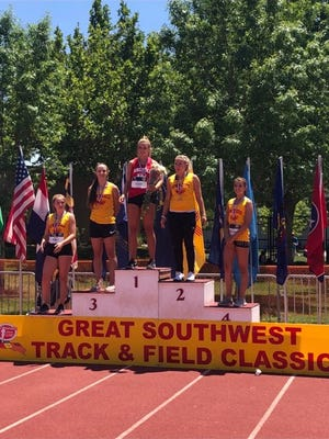 Silver High student Mariah Humphrey was one of five SHS students selected for the 2018 Great Southwest Track and Field Classic in Albuquerque. She placed fourth in the javelin. The track meet had 900 athletes from 25 states and Jamaica.
