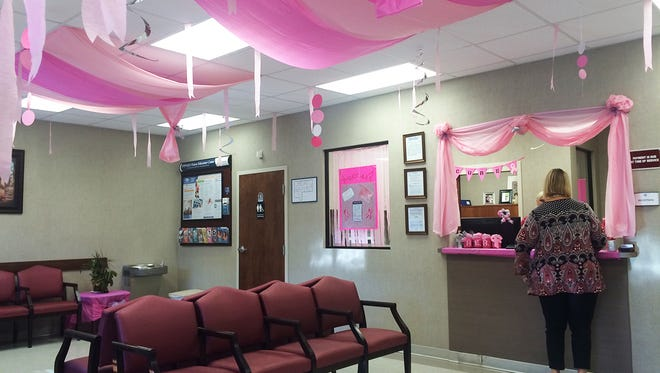 """Hattiesburg Clinic is """"pinking out"""" for Breast Cancer Awareness Month."""