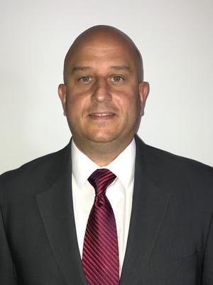 New Vineland Fire Department Director Richard Franchetta,