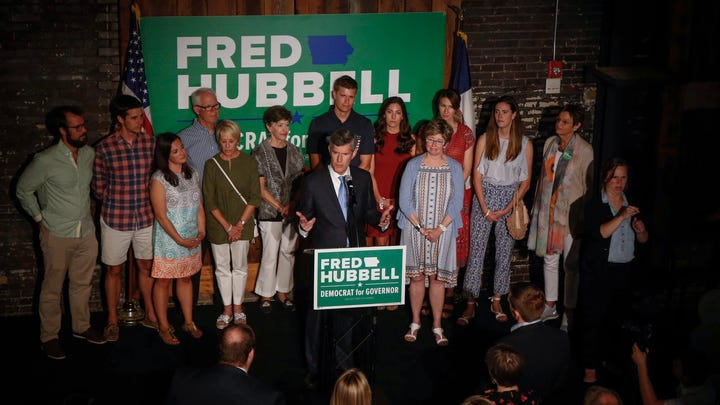 Hubbell: 'It's time to move Iowa forward'
