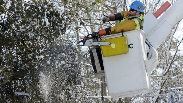 Blizzard fallout: Some won't get power back for days