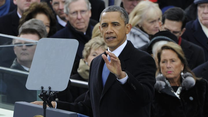 Photos of the second inauguration of President Obama