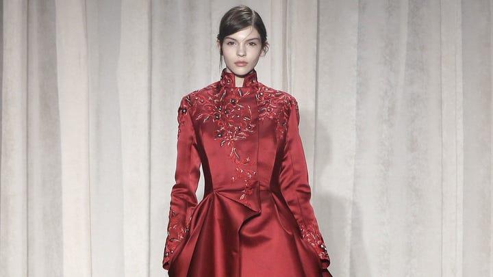 New York Fashion Week: Marchesa's fiery Spanish vibe