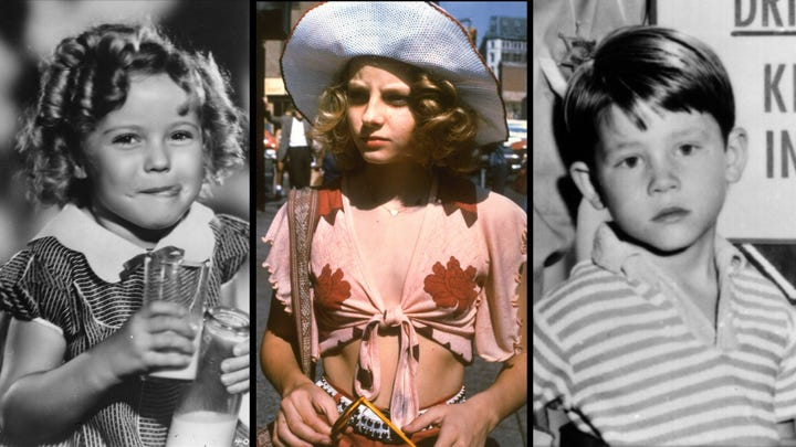 Shirley Temple cheered up Depression era-audiences