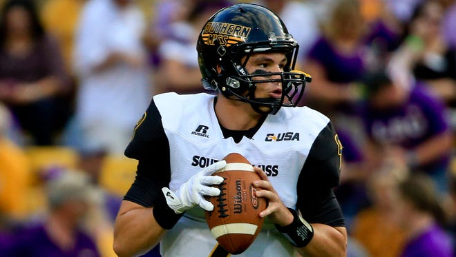 Southern Miss quarterback Nick Mullens has been deemed 100 percent healthy by Golden Eagle football coach Jay Hopson.
