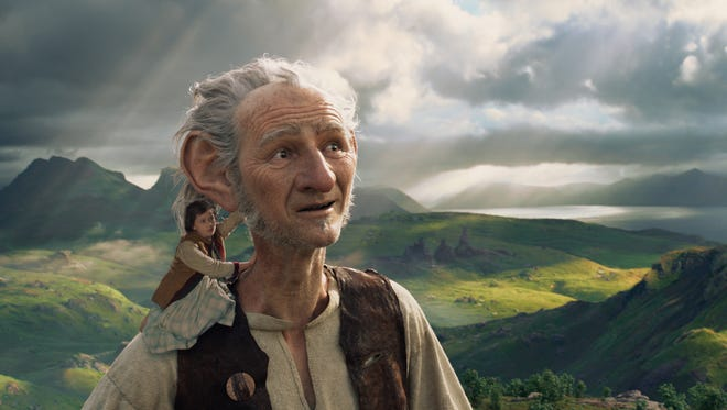 """""""The BFG,"""" directed by Steven Spielberg and based on Roald Dahl's beloved classic, a precocious 10-year old named Sophie (Ruby Barnhill) befriends a big friendly giant from Giant Country."""