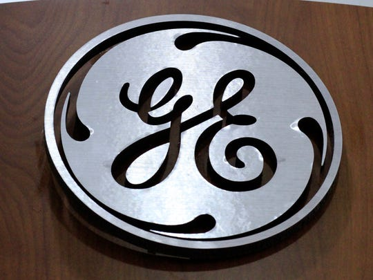 A General Electric logo is displayed at a store in Cranberry Township, Pennsylvania, on Jan. 6, 2014. GE Company recently moved away from annual reviews of employees.