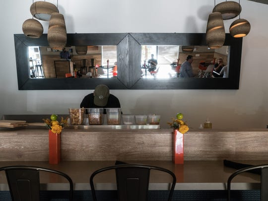 Pho 533 reopens with a new spring roll bar and expanded space, September 1, 2016.