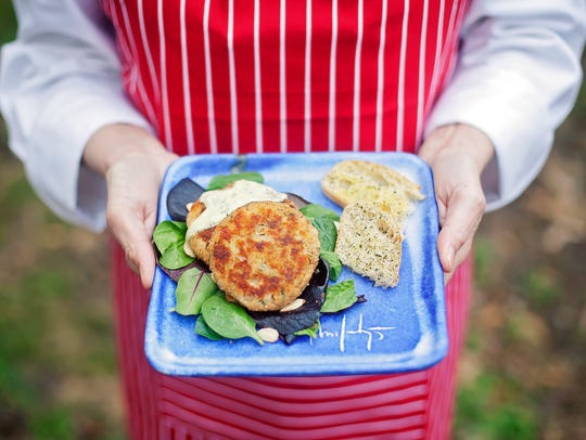 Feast Specialty Foods' salmon croquettes are a mixture