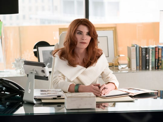 "Julianna Margulies as Kitty Montgomery on ""Dietland."""