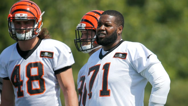 Cincinnati Bengals Andre Smith slimmed down for 2015 and is ready for a big season.
