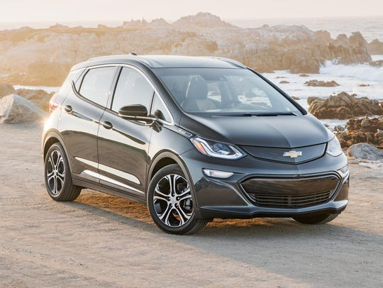 The Chevrolet Bolt EV is Consumer Reports' Top Pick