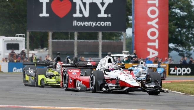 Verizon Indy Car Series driver Graham Rahal (15) during the Indycar Grand Prix at The Glen at Watkins Glen International this year.