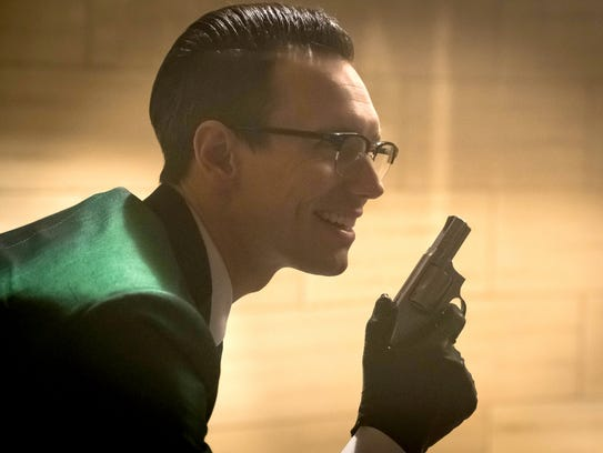 The Riddler (Cory Michael Smith) has a crisis of identity