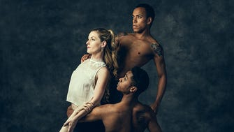 "From top: Augusto Cezar, Julia Mitchell, Gerald Watson and Katie Vasilopoulos perform in Nashville Ballet's 2018 ""Emergence"" series."