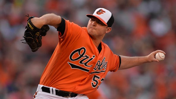 Orioles closer Zach Britton allowed just four earned