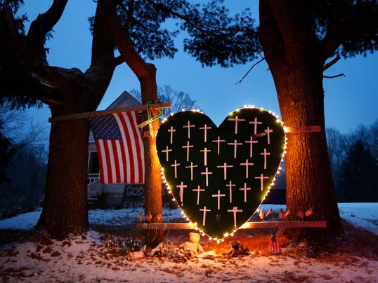 AP APTOPIX Connecticut School Shootings
