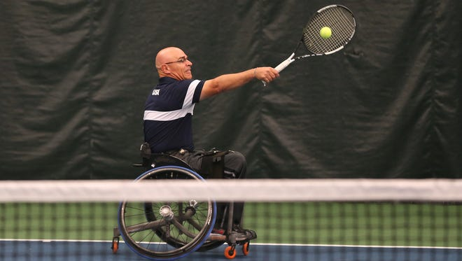 Buffalo native Paul Walker, an adaptive athlete who has competed since 1997, was once ranked as high as No. 4 in the U.S. and 31 in the world in wheelchair tennis rankings. He lost the use of his legs in a 1994 accident in the Army.