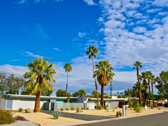 Palm Springs is known as a midcentury modern Mecca