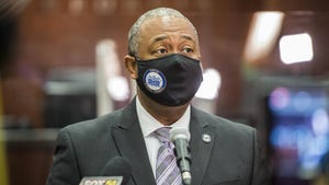 """""""If you have not been vaccinated, I urge you, please get vaccinated,"""" Augusta Mayor Hardie Davis said Tuesday."""