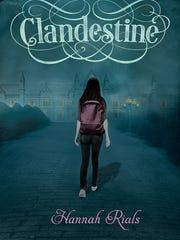"Maryville author Hannah Rials' second book, ""Clandestine,"""