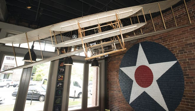Inside the Aviator Bar in downtown Montgomery.