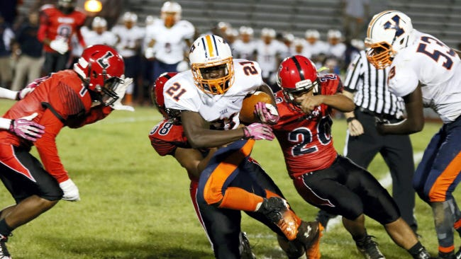 Khalid Dorsey rushed for nearly 900 yards last season for William Penn.