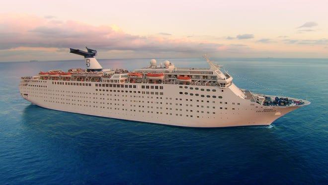 Bahamas Paradise Cruise Line's 1,900-passenger Grand Celebration sails two-night trips from West Palm Beach, Fla. to Grand Bahama Island and back.