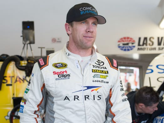 Carl Edwards, born Aug. 15, 1979 in Columbia, Mo.,