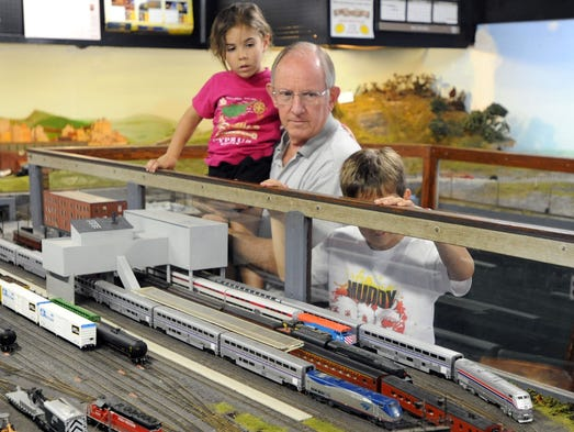 Train enthusiasts got a chance to peruse model trains, railroad memorabilia and a historic train station, AC tower and an Erie Lakawanna caboose at the 10th Annual Everett's Train Show and Swap Meet at the Marion Union Station, 532 W. Center St.