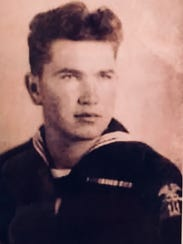 Darrel Hout's Navy portrait