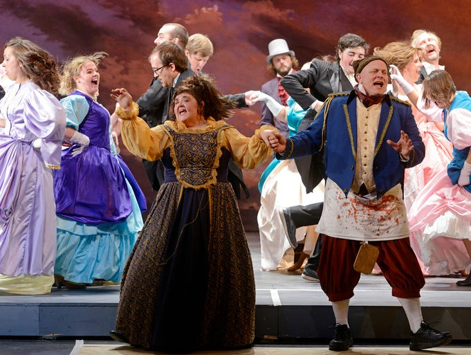 Sioux Empire Community Theatre's production of Les Mis?rables runs May 2-18 at the Orpheum Theater, April 28, 2014.