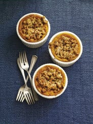 Roasted Squash Soufflé with Maple Streusel