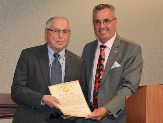 Roseman retires from board after 28 years PHOTO CAPTION