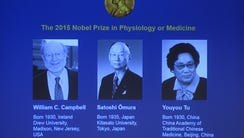 The portraits of the winners of the Nobel Medicine