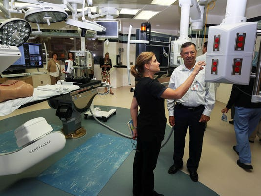 Opening of New Hyrbird Operating Room- UC medical Center-6-10-2015