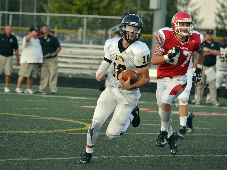 Avon quarterback Brandon Peters