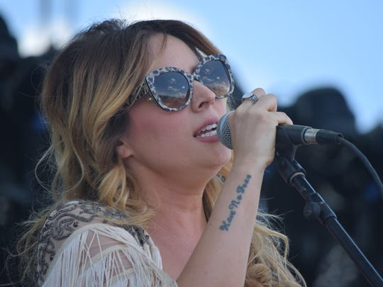 ucie Silvas performs at Stagecoach in May 2016 at the Empire Polo Club in Indio.