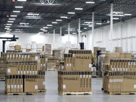 The new MCS Industries 215,000 square-foot distribution