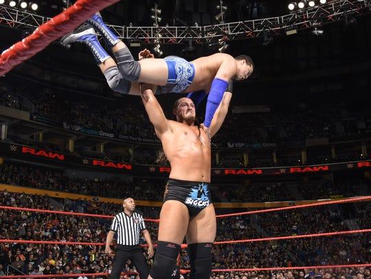 At 7 feet tall and 276 pounds, WWE superstar Big Cass