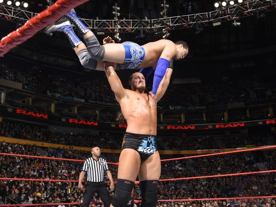 At 7 feet tall and 276 pounds, WWE superstar Big Cass is a significant presence in the ring.