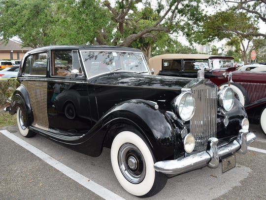People's choice first place went to a 1954 Rolls Royce