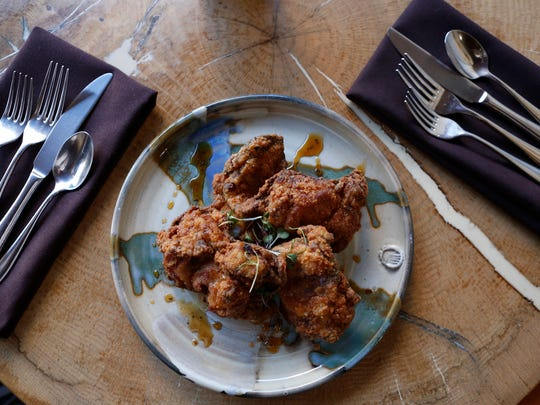 The fried chicken at Wiltshire on Market.