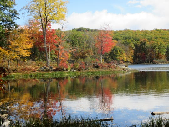 Nuclear Lake is nestled in the Pawling hills.