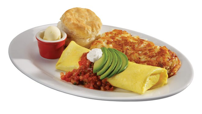 Valley of the Sun Omelet from Eggs N' Joe in Scottsdale.